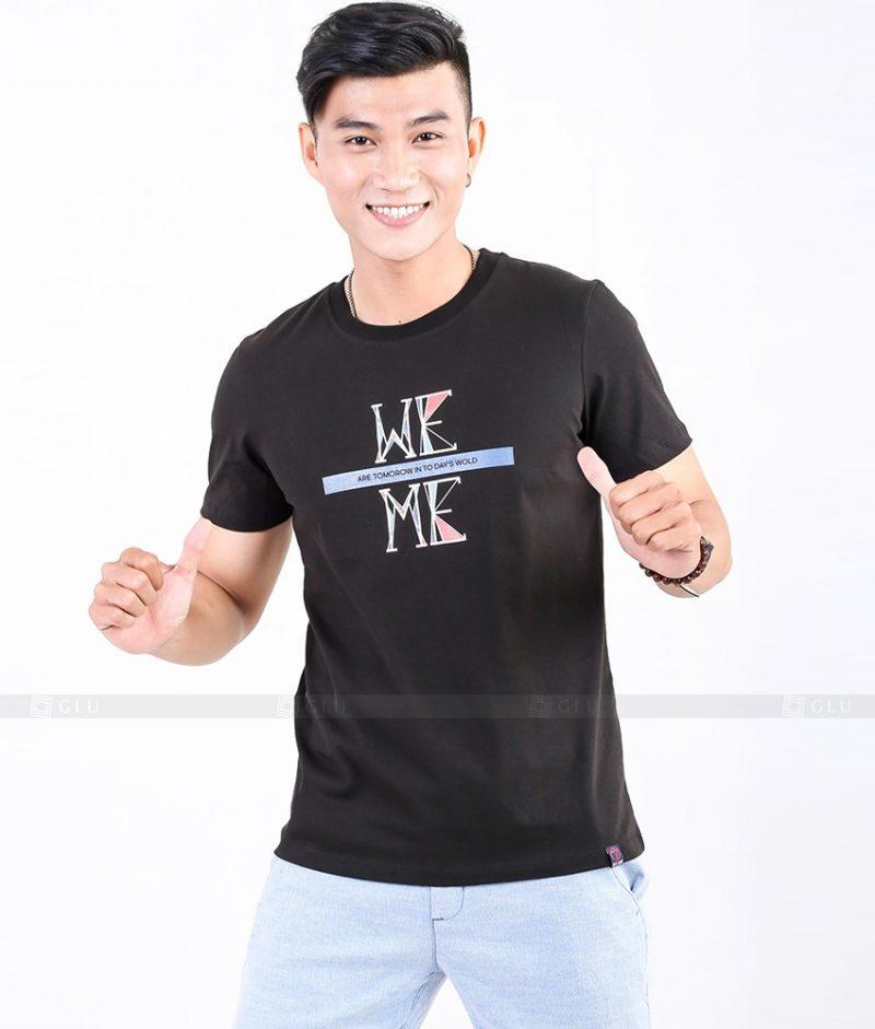 Ao Thun Nam Co Tron GLU TR78