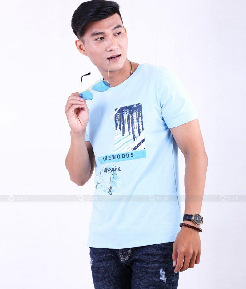 Ao Thun Nam Co Tron GLU TR79