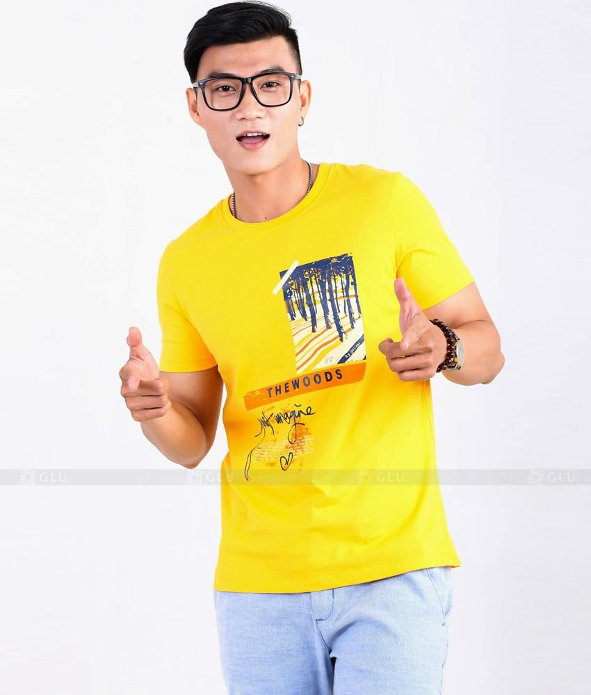 Ao Thun Nam Co Tron GLU TR80