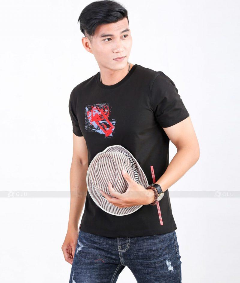 Ao Thun Nam Co Tron GLU TR81