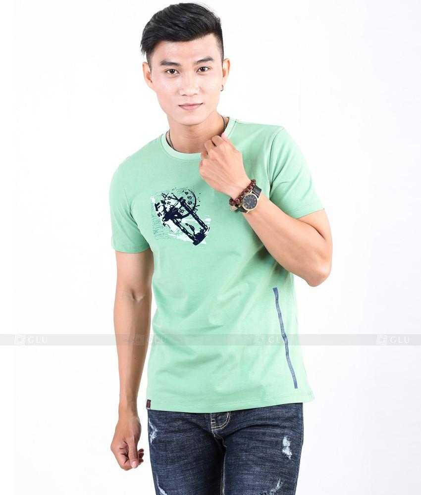 Ao Thun Nam Co Tron GLU TR82