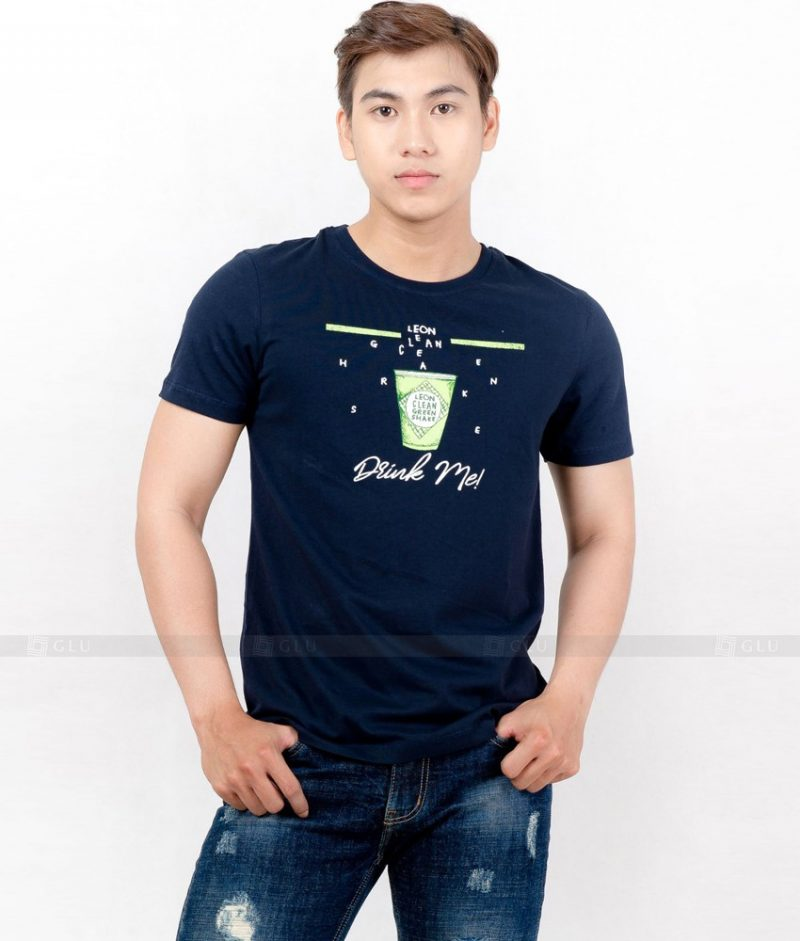 Ao Thun Nam Co Tron GLU TR98
