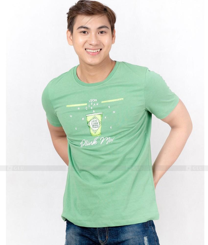 Ao Thun Nam Co Tron GLU TR99