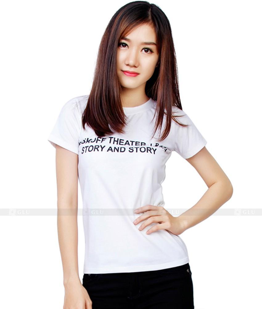 Ao Thun Nu Co Tron GLU TR02
