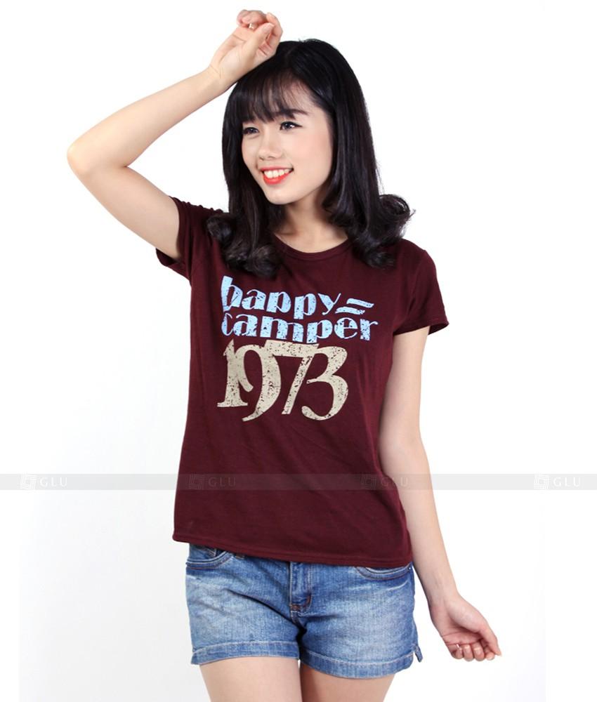 Ao Thun Nu Co Tron GLU TR114