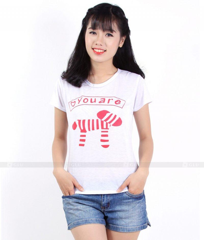 Ao Thun Nu Co Tron GLU TR116