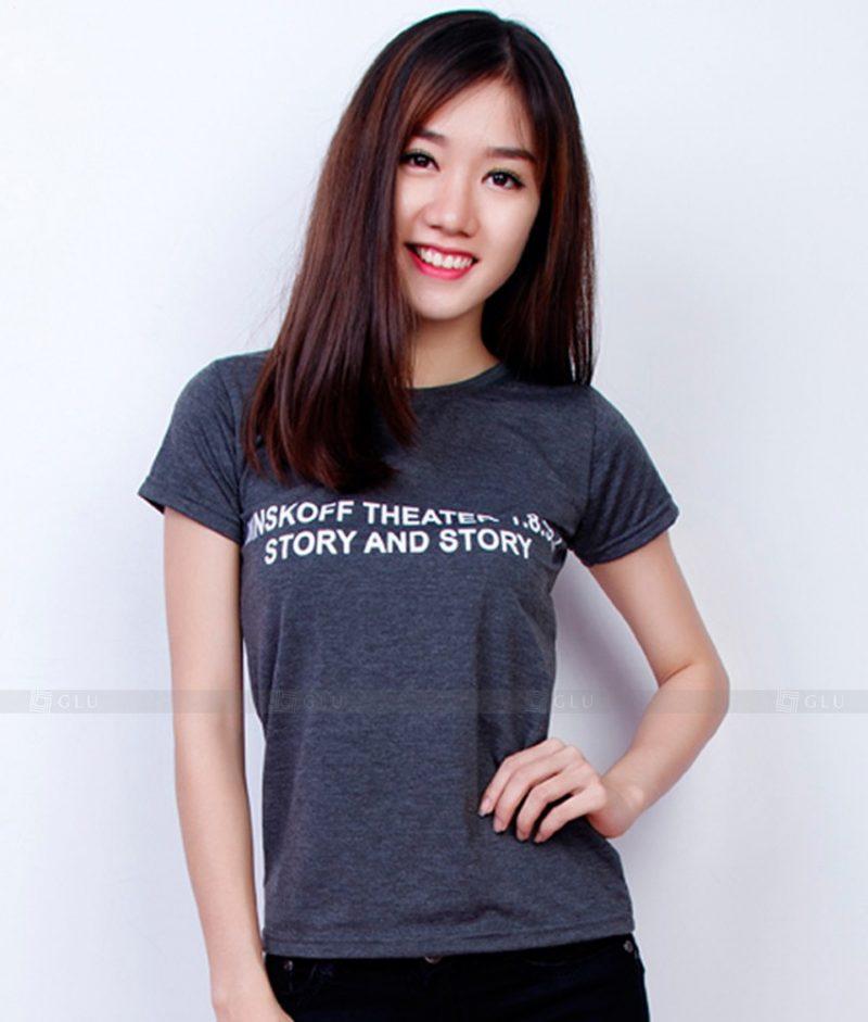 Ao Thun Nu Co Tron GLU TR160