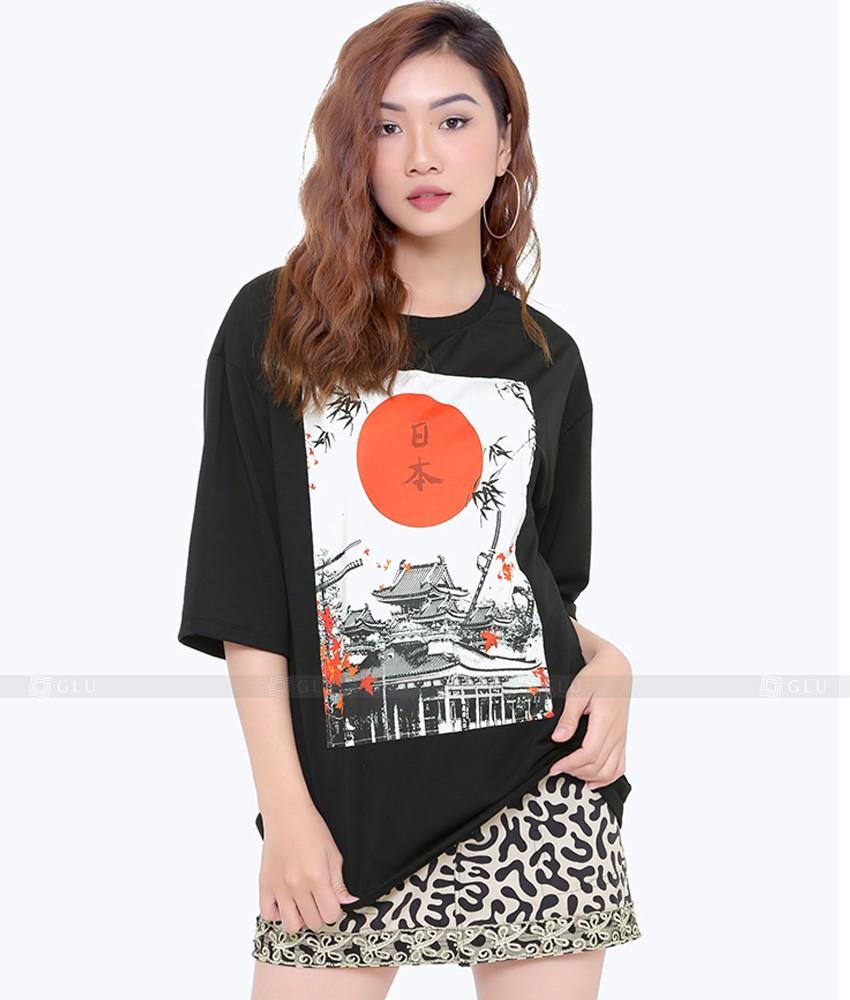 Ao Thun Nu Co Tron GLU TR205