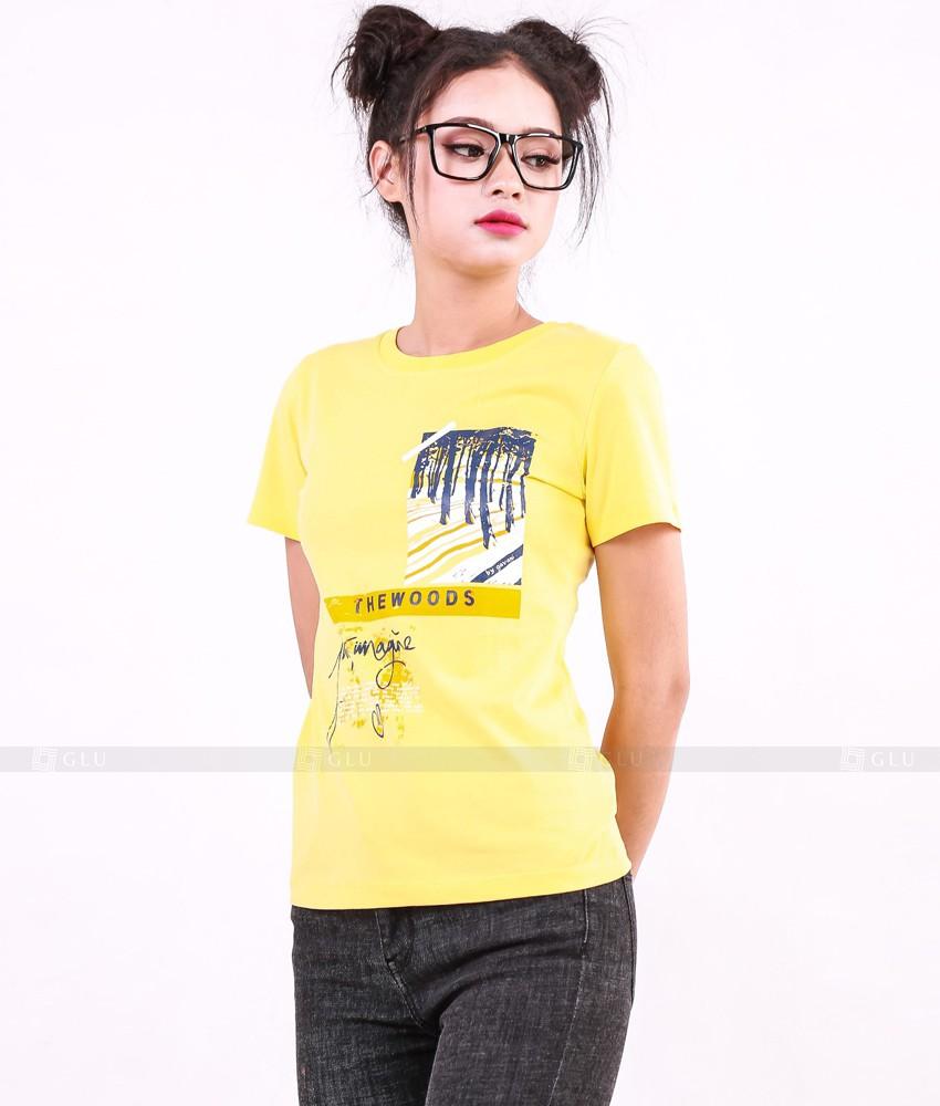 Ao Thun Nu Co Tron GLU TR228