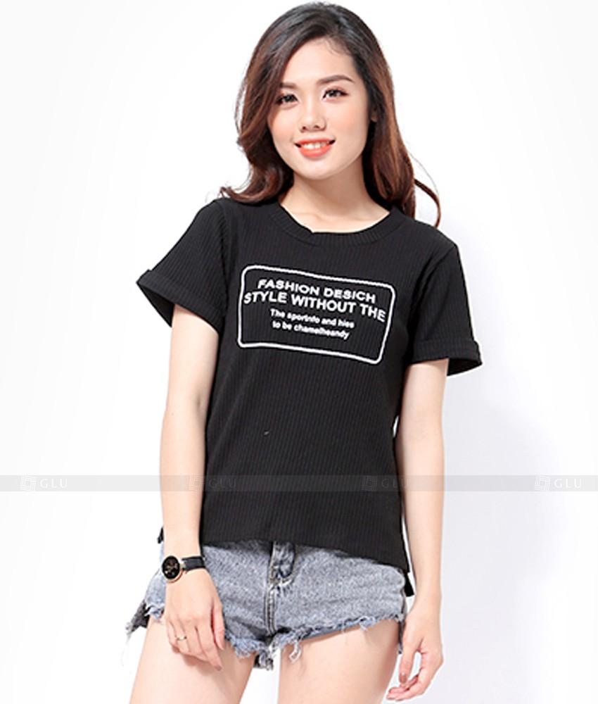 Ao Thun Nu Co Tron GLU TR237