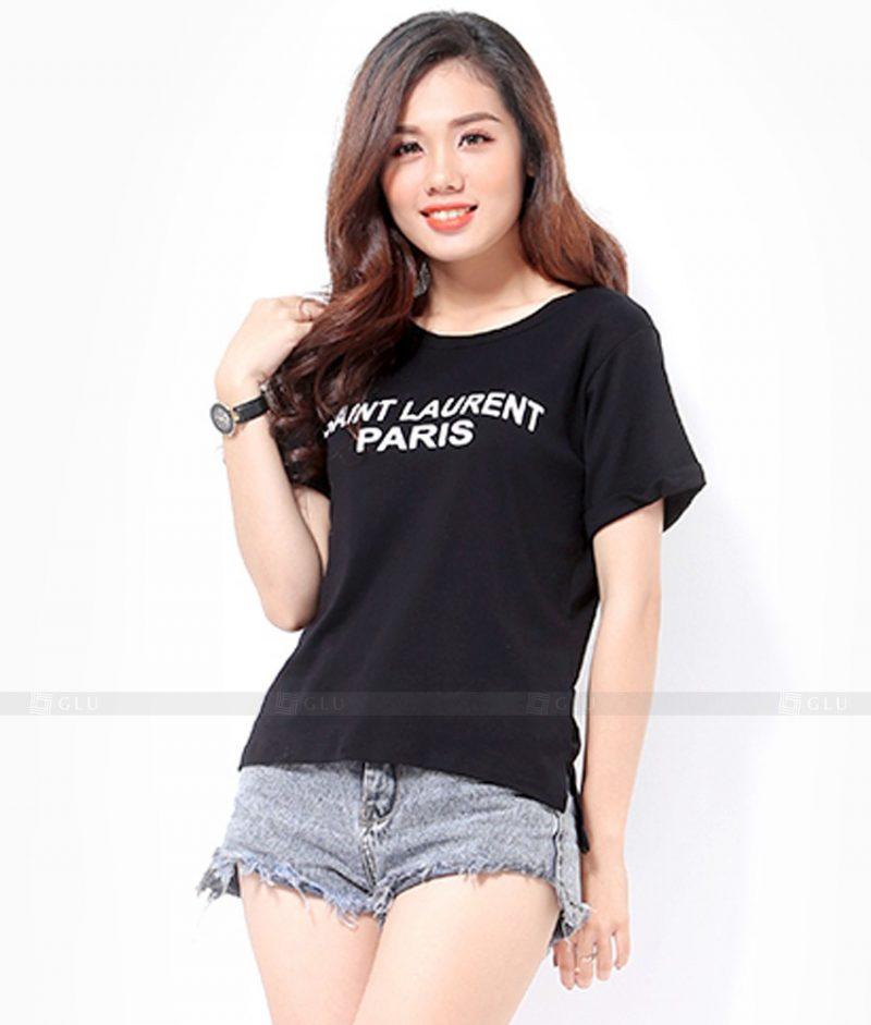 Ao Thun Nu Co Tron GLU TR239