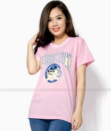 Ao Thun Nu Co Tron GLU TR25 may áo thun nữ cổ tròn