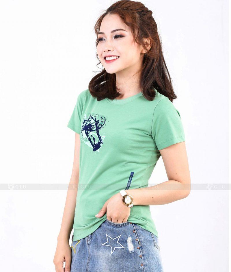 Ao Thun Nu Co Tron GLU TR264