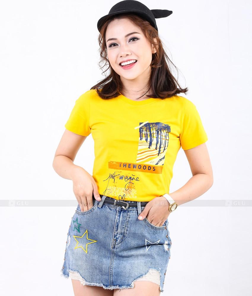 Ao Thun Nu Co Tron GLU TR269