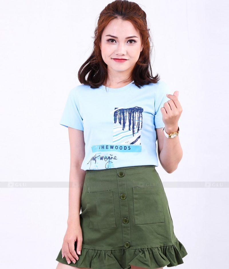 Ao Thun Nu Co Tron GLU TR270