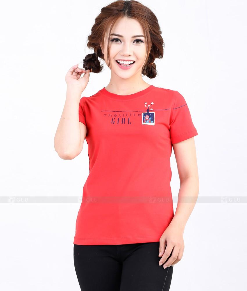 Ao Thun Nu Co Tron GLU TR280