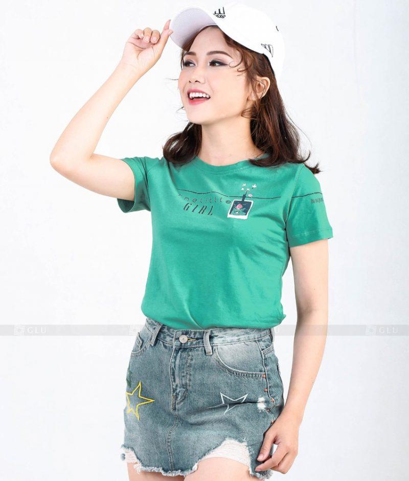 Ao Thun Nu Co Tron GLU TR283