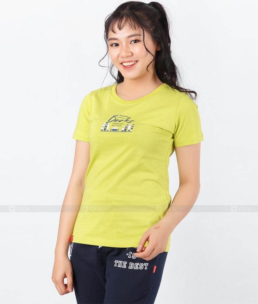 Ao Thun Nu Co Tron GLU TR298
