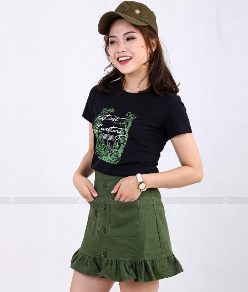 Ao Thun Nu Co Tron GLU TR306