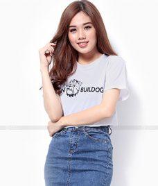 Ao Thun Nu Co Tron GLU TR32 may áo thun nữ cổ tròn