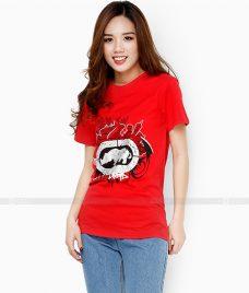 Ao Thun Nu Co Tron GLU TR37 may áo thun nữ cổ tròn