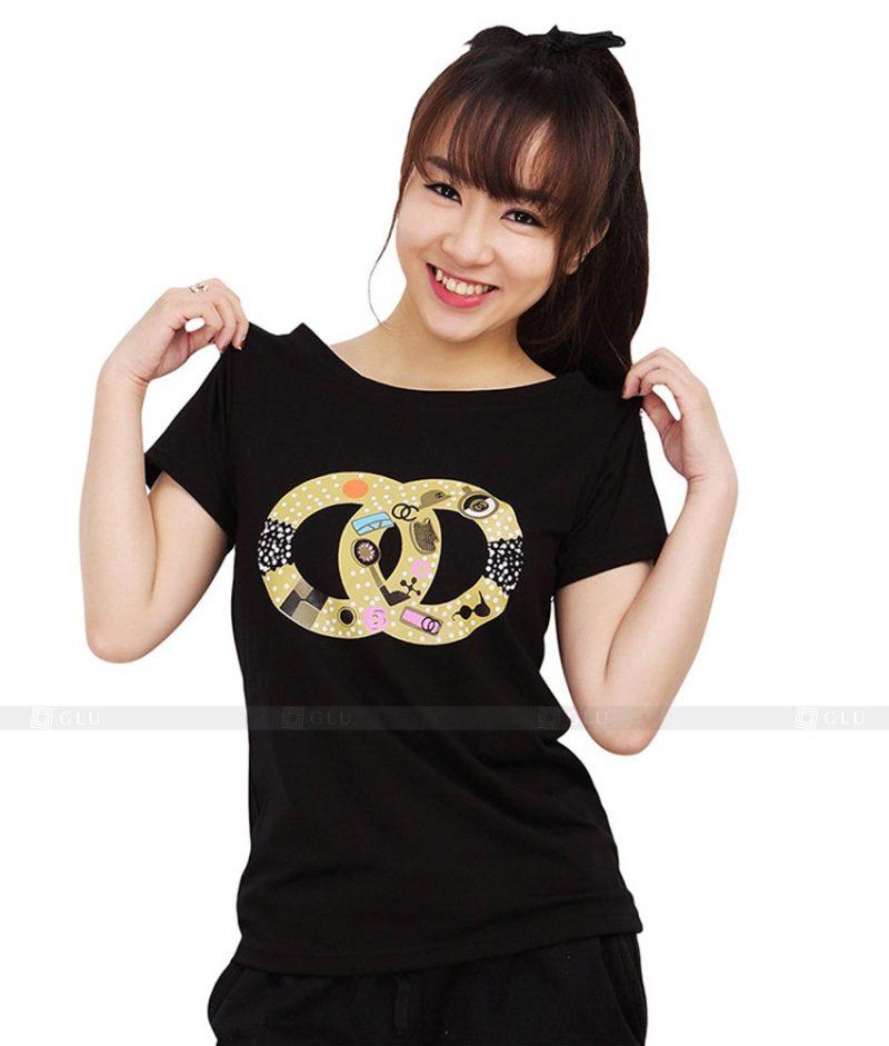 Ao Thun Nu Co Tron GLU TR83