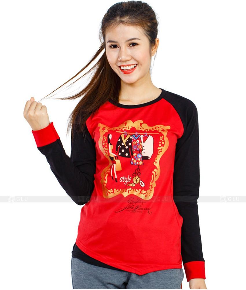 Ao Thun Nu Co Tron GLU TR93