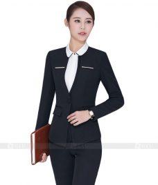 Ao Vest Dong Phuc Cong So GLU 04 vest đồng phục công sở
