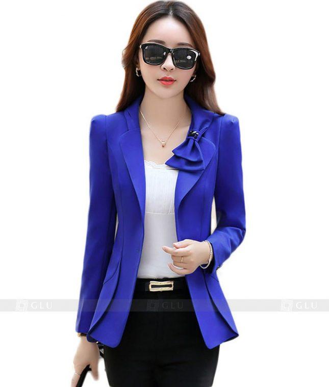 Ao Vest Dong Phuc Cong So GLU 100 áo sơ mi nữ đồng phục công sở