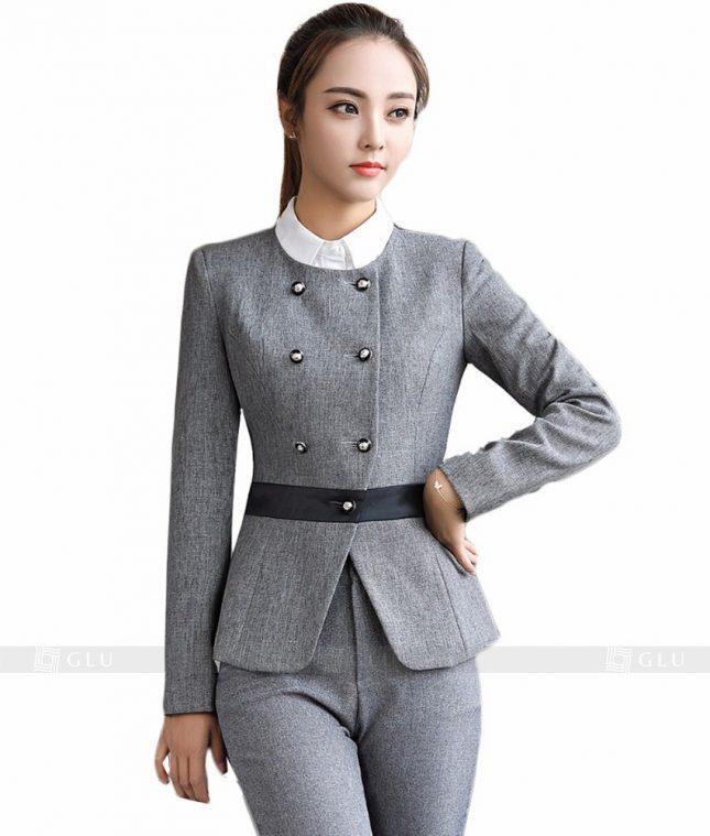 Ao Vest Dong Phuc Cong So GLU 102 áo sơ mi nữ đồng phục công sở