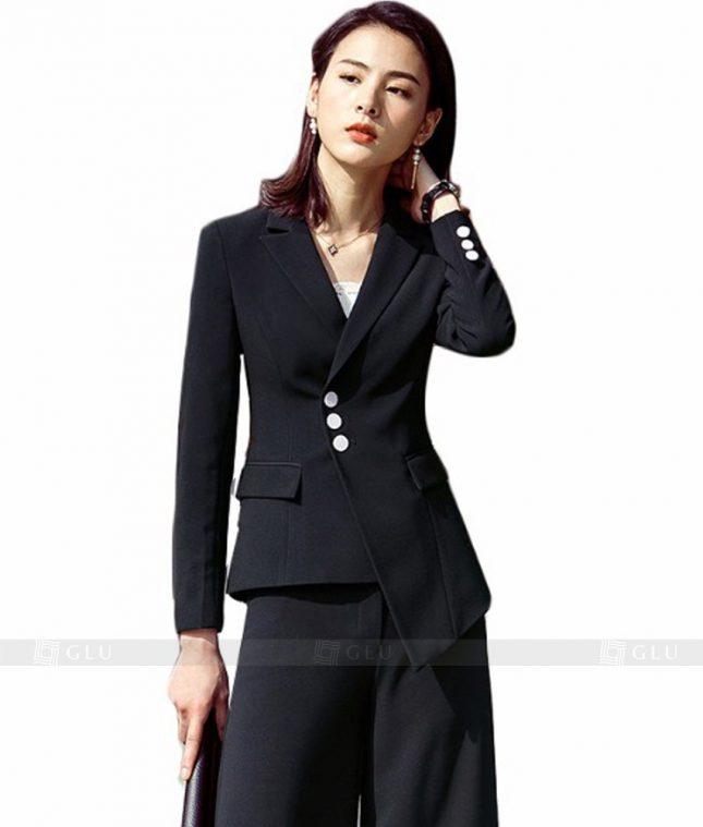 Ao Vest Dong Phuc Cong So GLU 103 áo sơ mi nữ đồng phục công sở