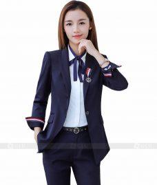 Ao Vest Dong Phuc Cong So GLU 105 Đồng Phục Công Sở