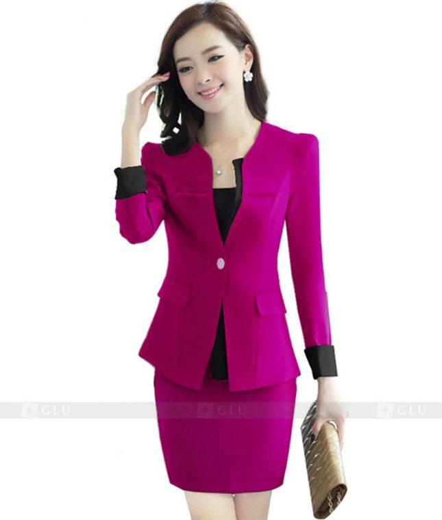 Ao Vest Dong Phuc Cong So GLU 109 áo sơ mi nữ đồng phục công sở
