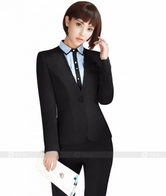Ao Vest Dong Phuc Cong So GLU 110 áo sơ mi nữ đồng phục công sở