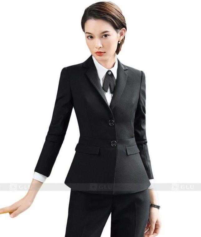 Ao Vest Dong Phuc Cong So GLU 115 áo sơ mi nữ đồng phục công sở