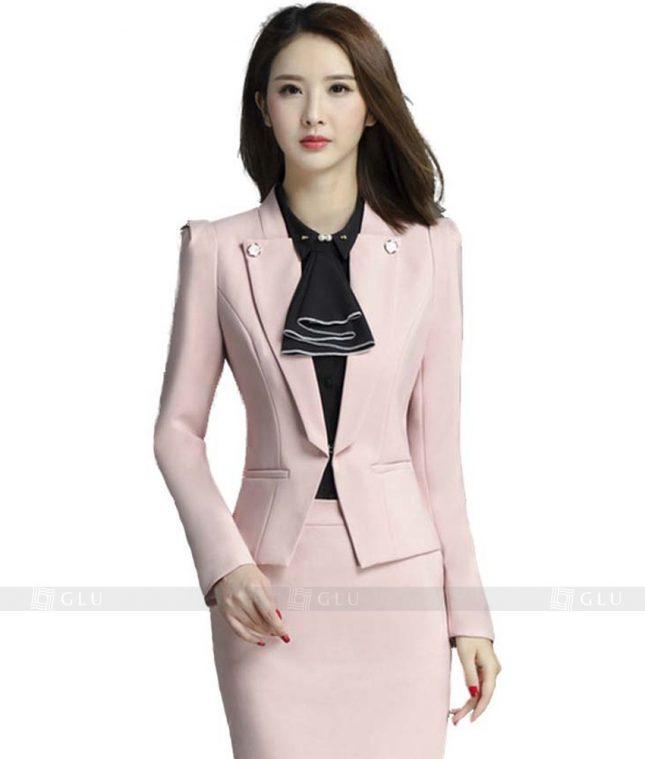 Ao Vest Dong Phuc Cong So GLU 116 áo sơ mi nữ đồng phục công sở