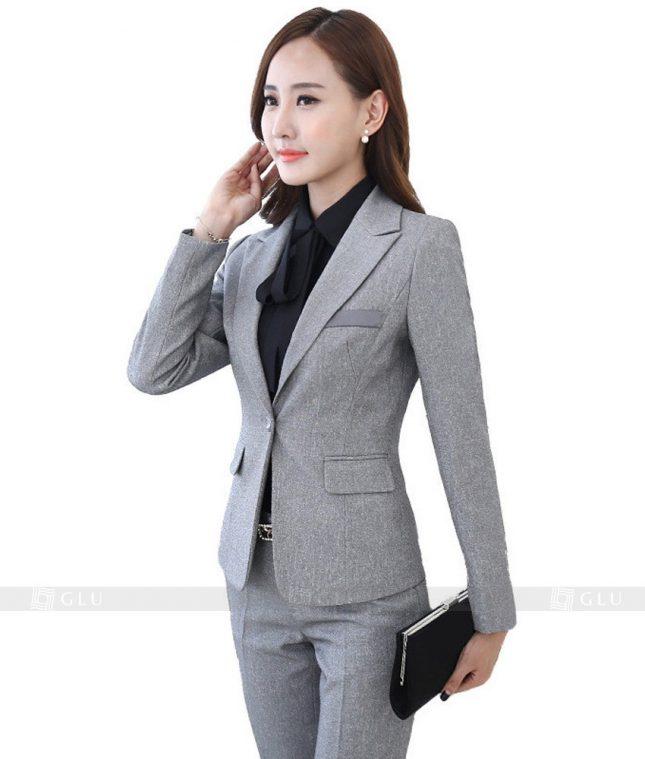 Ao Vest Dong Phuc Cong So GLU 119 áo sơ mi nữ đồng phục công sở