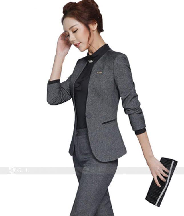 Ao Vest Dong Phuc Cong So GLU 121 áo sơ mi nữ đồng phục công sở