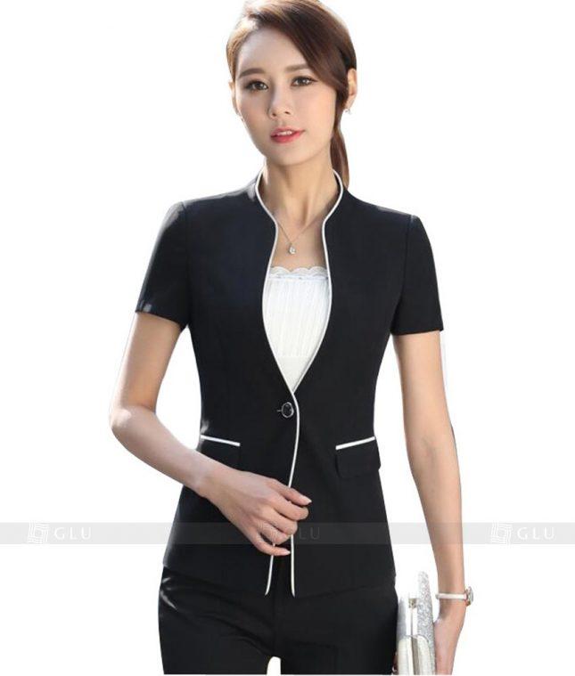 Ao Vest Dong Phuc Cong So GLU 122 áo sơ mi nữ đồng phục công sở