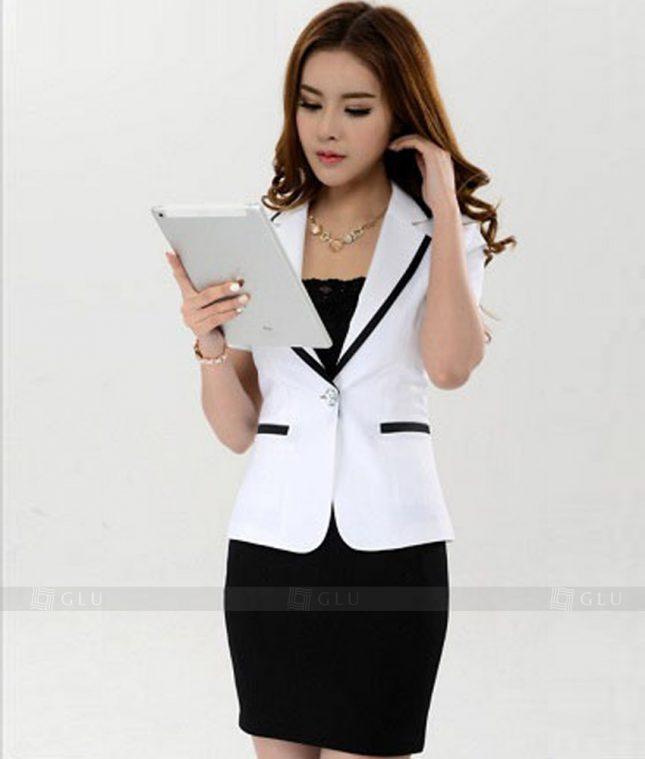 Ao Vest Dong Phuc Cong So GLU 125 áo sơ mi nữ đồng phục công sở