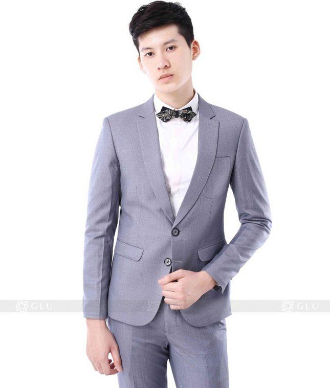 Ao Vest Dong Phuc Cong So GLU 126 áo sơ mi nữ đồng phục công sở