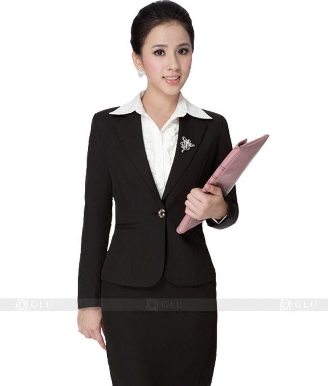 Ao Vest Dong Phuc Cong So GLU 127 áo sơ mi nữ đồng phục công sở