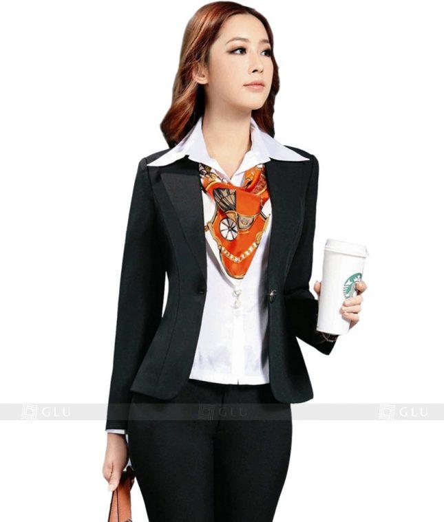 Ao Vest Dong Phuc Cong So GLU 128 áo sơ mi nữ đồng phục công sở