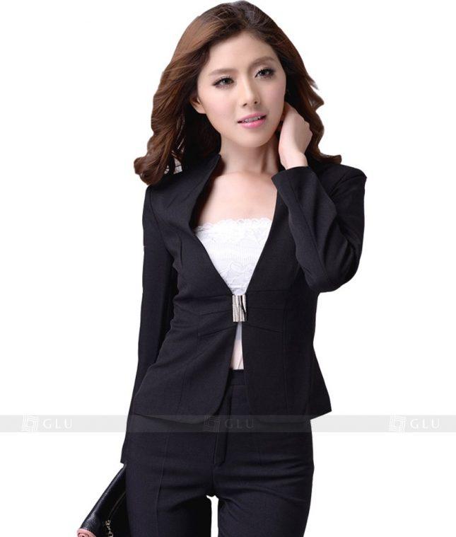 Ao Vest Dong Phuc Cong So GLU 129 áo sơ mi nữ đồng phục công sở