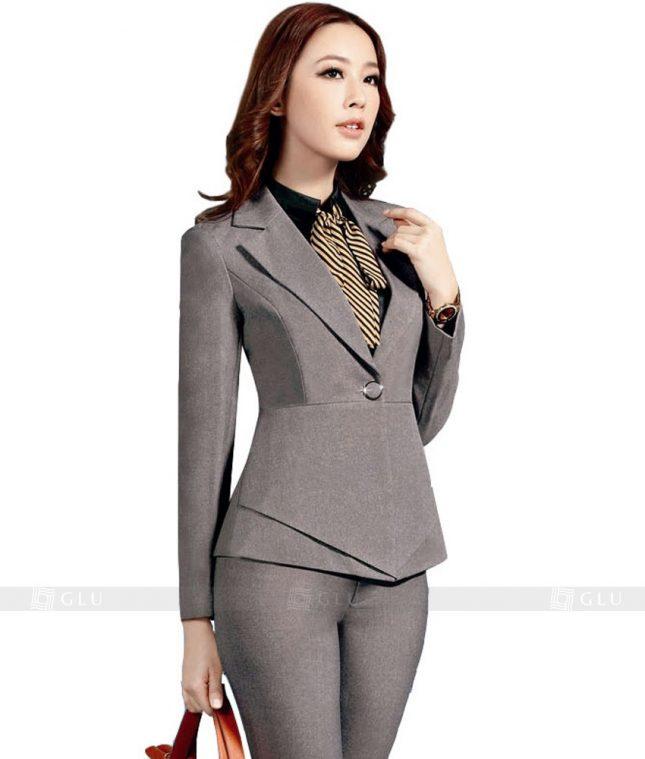 Ao Vest Dong Phuc Cong So GLU 130 áo sơ mi nữ đồng phục công sở