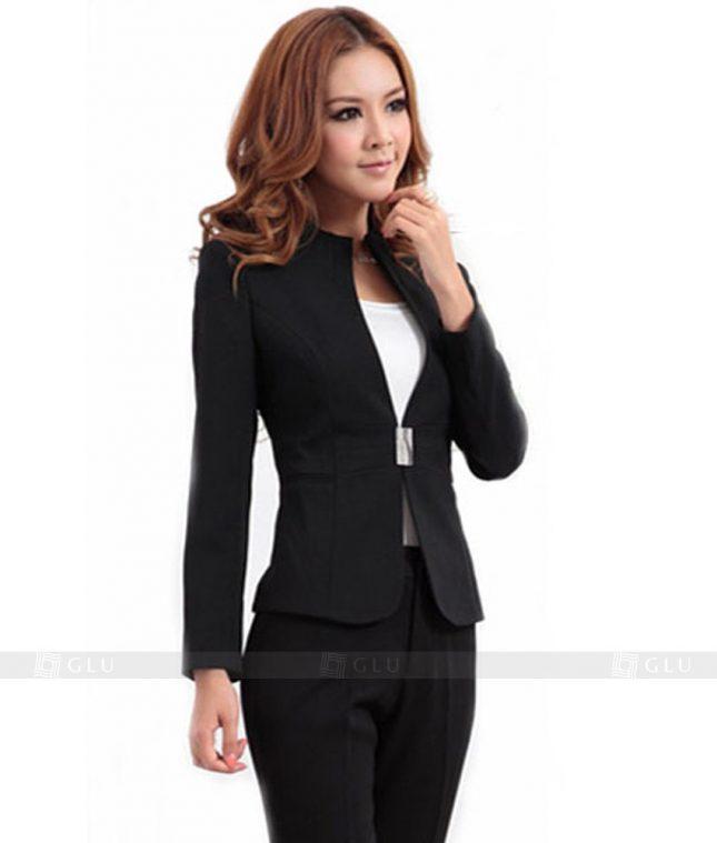 Ao Vest Dong Phuc Cong So GLU 133 áo sơ mi nữ đồng phục công sở