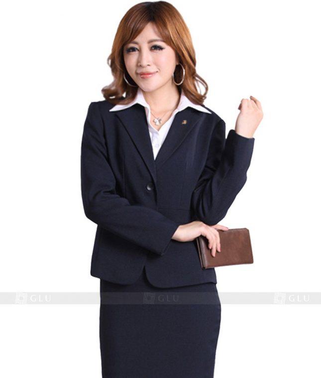 Ao Vest Dong Phuc Cong So GLU 134 áo sơ mi nữ đồng phục công sở