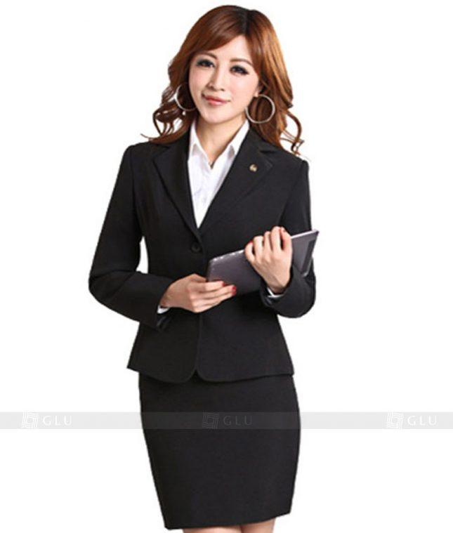 Ao Vest Dong Phuc Cong So GLU 135 áo sơ mi nữ đồng phục công sở