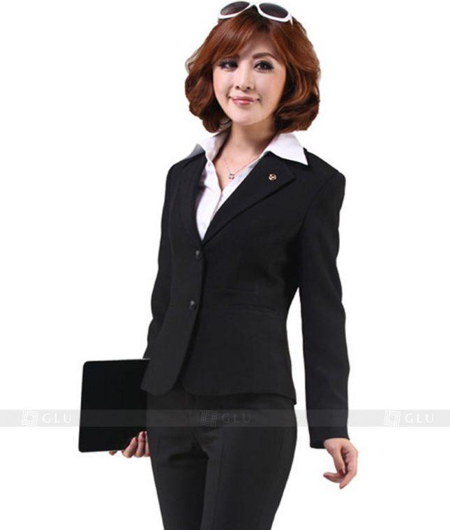 Ao Vest Dong Phuc Cong So GLU 136 áo sơ mi nữ đồng phục công sở