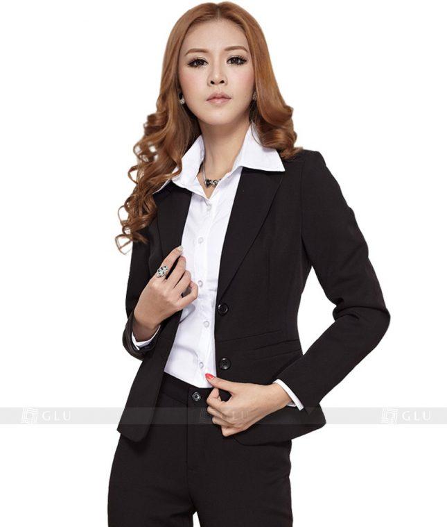 Ao Vest Dong Phuc Cong So GLU 137 áo sơ mi nữ đồng phục công sở